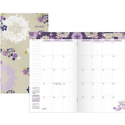 2015 Staples Queen Anne 2-Year Monthly Pocket Planner, 3x6