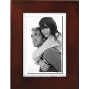 "Malden Classic Linear Wood Picture Frame, Dark Walnut, 3 1/2"" x 5"""