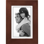 "Malden Classic Linear Wood Picture Frame, Dark Walnut, 4"" x 6"""