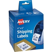 "Avery(R) Shipping Labels for Dymo(R) and Zebra Printers 04156, 4"" x 6"", 1 Roll of 220"