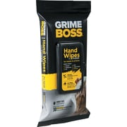 Nice Pak Grime Boss Hand & Surface Cleaning Wipes, 30/Pk