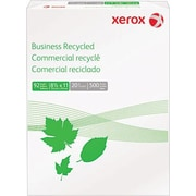 "Xerox® Multipurpose Recycled Paper, Letter Size, 92 US Brightness, 8 1/2"" x 11"", 500 Sheets/Ream"