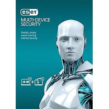 ESET Multi-Device Security for PCs or Mac and 3 Android Devices for Windows [Download]