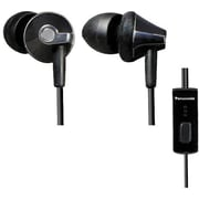Panasonic In-Ear Headphones with Cell Phone Control, Black