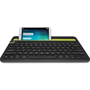 Logitech - Clavier K480 Bluetooth multi-dispositifs, noir
