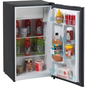 Avanti® 3.3 CU. FT. Compact Refrigerator with Chiller Compartment, Black