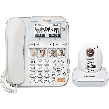 VTech SN1197 CareLine Home Safety Corded Phone System