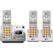 AT&T EL52303 Three-Handset DECT 6.0 Cordless Expandable Phone with Answering System and Caller ID/Call Waiting, Silver