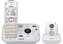 VTech SN6187 CareLine Home Safety Cordless Phone System