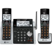 AT&T CL83213 2 Handset Cordless Phone and Answering System with Dual Caller ID/Call Waiting