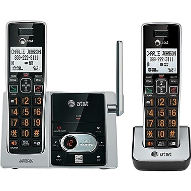 AT&T CL82213 2 Handset Cordless Phone System with Caller ID/Call Waiting