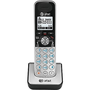 AT&T TL88002 Accessory Handset, Silver/Black