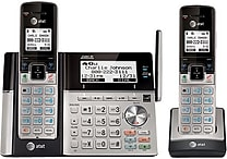 AT&T TL96273 2 Handset Connect to Cell™ Cordless Phone and Answering System with Dual Caller ID