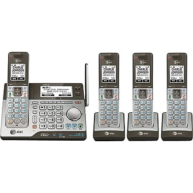 AT&T CLP99483 4 Handset Connect to Cell® Answering System with Dual Caller ID