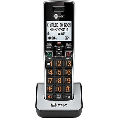 AT&T CL80113 Accessory Handset, Black