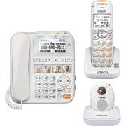 VTech SN6197 CareLine Home Safety Corded/Cordless Phone System