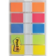 "Post-it® 1/2"" Flags, Rio de Janeiro Collection, 100/On-the-Go Dispenser (683RIO2)"