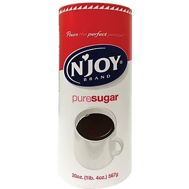 'N Joy Pure Sugar, 20 oz. Canister