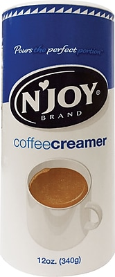 N JOY Non Dairy Creamer 12 oz. Single Canister