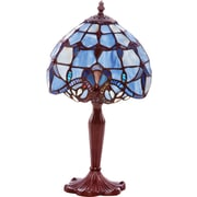 River of Goods 14.75 H Allistar Accent Table Lamps, Blue Allistar