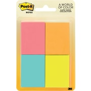 "Post-it® 1 1/2""x 2"" Cape Town Colors Page Markers, 400 Flags/Pack"