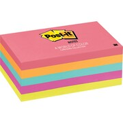 "Post-it® 3"" x 5"" Cape Town Notes, 5/Pack"