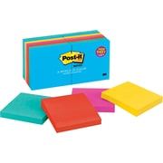 "Post-it® Notes 3"" x 3"" Jaipur Collection Notes, 14 Pads/Pack (654-14AU)"