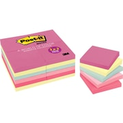 "Post-it® 3"" x 3"" Marseille Notes Value Pack, 24 Pads/Pack"