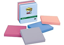 Post-it® Super Sticky 3' x 3' Recycled Bali Notes, 5 Pads/Pack