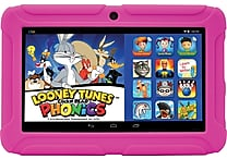 ClickNKids 7' 8GB Android 4.4 Tablet Featuring Looney Tunes Phonics, Assorted Colors