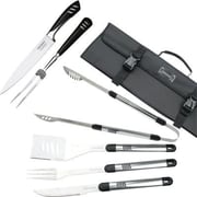 Top Chef Stainless Steel 7 Piece BBQ & Carving Set
