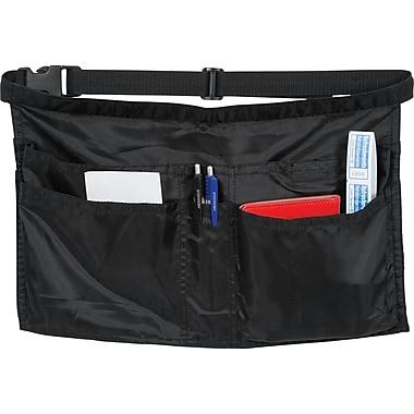 Merangue - Tablier pour serveur avec pochettes à usage intensif, noir
