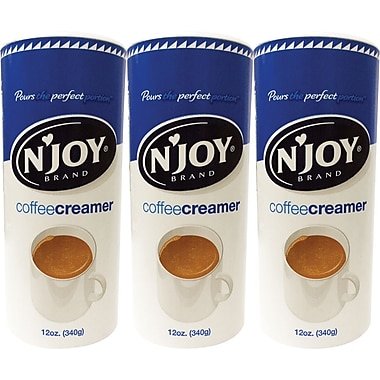 'N Joy Non-Dairy Powder Coffee Creamer Value Pack, 3/Pack