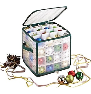 64 Ornament Storage Tote