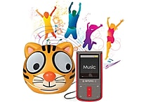 Riptunes 8GB MP3 and Touchscreen Video Player with Bonus Zoo Tune Speakers, Assorted Styles