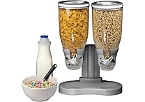 Double Cereal Dispensers, Assorted Colors