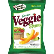 Sensible Portions® Veggie Straws, Lightly Salted, 1 oz. Bags, 8 Bags/Pack
