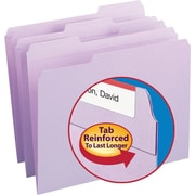 Smead Lavender File Folders, Letter Size