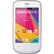 BLU Dash JR K D141K Unlocked GSM Dual-SIM Android Cell Phone - White