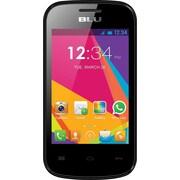 BLU Dash JR Social D141s Unlocked GSM Dual-SIM Android Cell Phone - Black