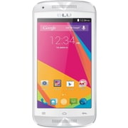 BLU Dash C Music D390u Unlocked GSM Dual-SIM Android Phone - White/Silver