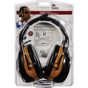 3M™ Tekk Protection™ Digital WorkTunes™ Earmuff, Yellow, 22 dB