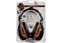 3M™ Tekk Protection™ Digital WorkTunes™ Earmuff, Yellow, 22 dB