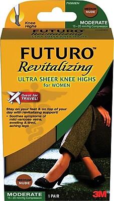 Futuro Revitalizing Ultra Sheer Knee Highs for Women 193557
