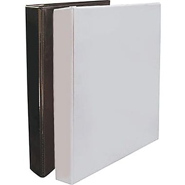 Staples® Simply Round Ring View Binder, 1