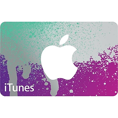 $50 iTunes Gift Card for $42.50 at staples.com online deal