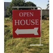 Staked Real Estate Sign Holder