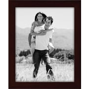 "Malden Classic Linear Wood Picture Frame, Espresso Walnut, 8"" x 10"""