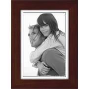 "Malden Classic Linear Wood Picture Frame, Espresso Walnut, 5"" x 7"""