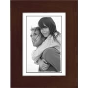 "Malden Classic Linear Wood Picture Frame, Espresso Walnut, 3.5"" x 5"""